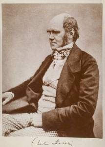Charles Darwin, circa 1854, author of The Origin of Species